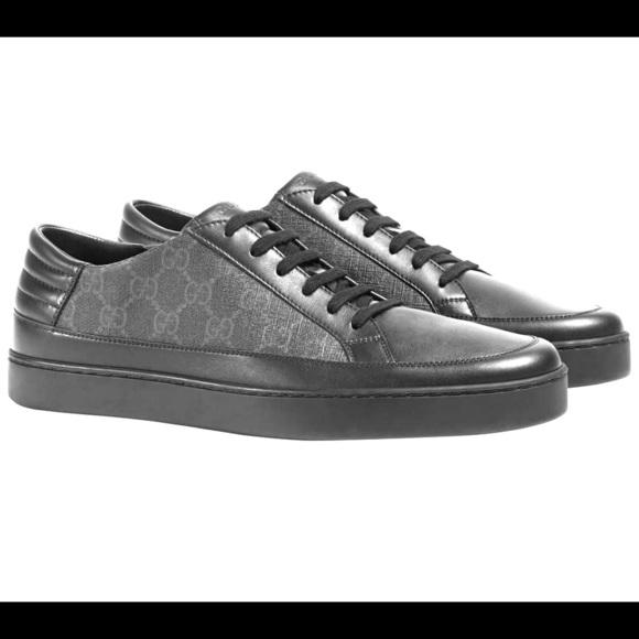 17dd073fadf725 Gucci Shoes | Common Gg Supreme Low Top Mens Sneaker Shoe | Poshmark